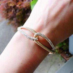 T j designs / Infinity bracelet